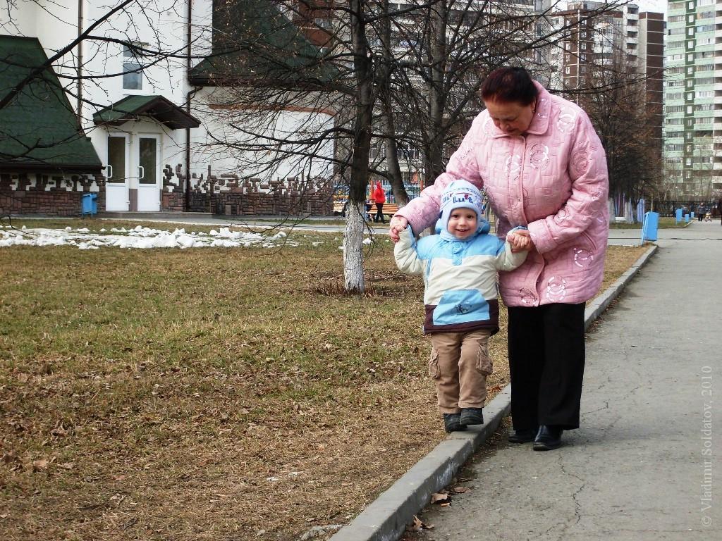 Тёма и бабушка