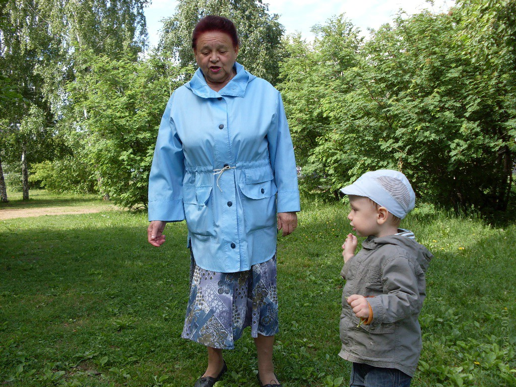 Тёма и бабушка Валя