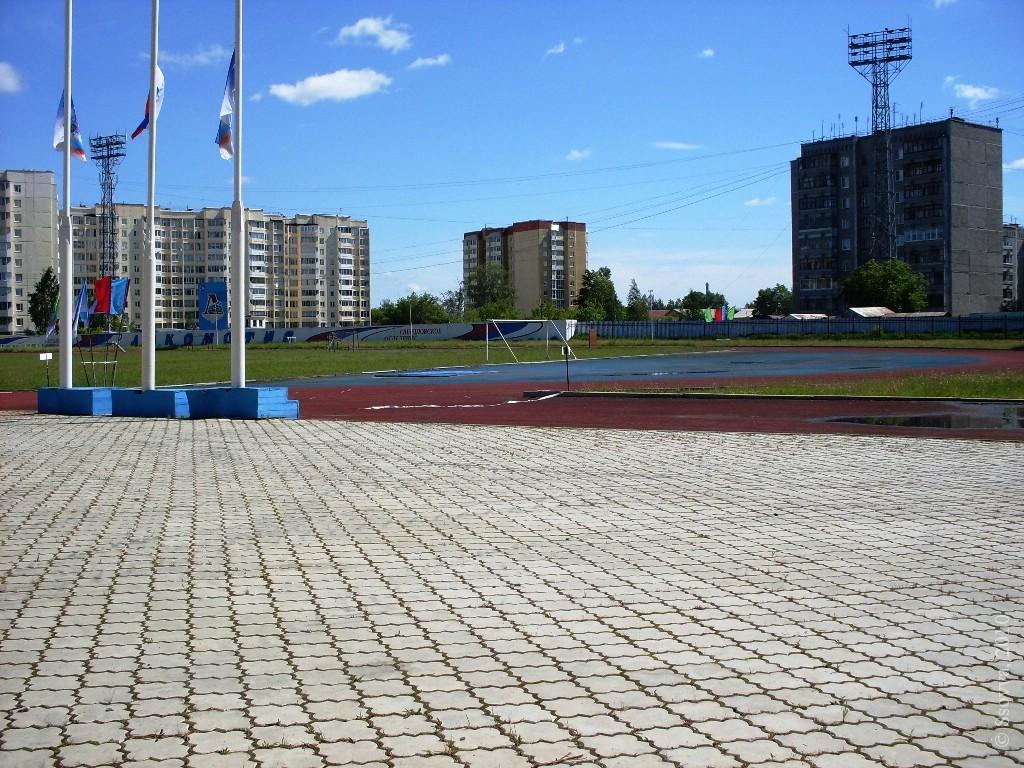 Стадион за забором